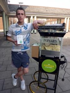 Craig & popcorn