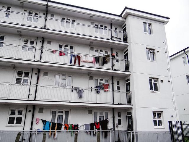 via Flickr user Terraces Tenements and Tower Blocks.jpgTenem